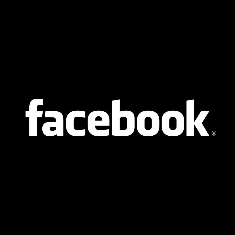Facebook logo clipart white free library Black Facebook Logo Vector - ClipArt Best free library