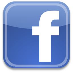 Facebook logo for website clipart