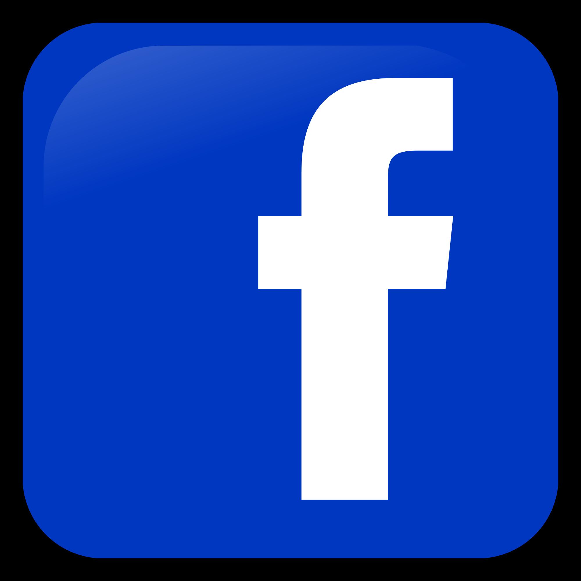 Facebook logo hd clipart vector library Facebook Logos PNG images free download vector library