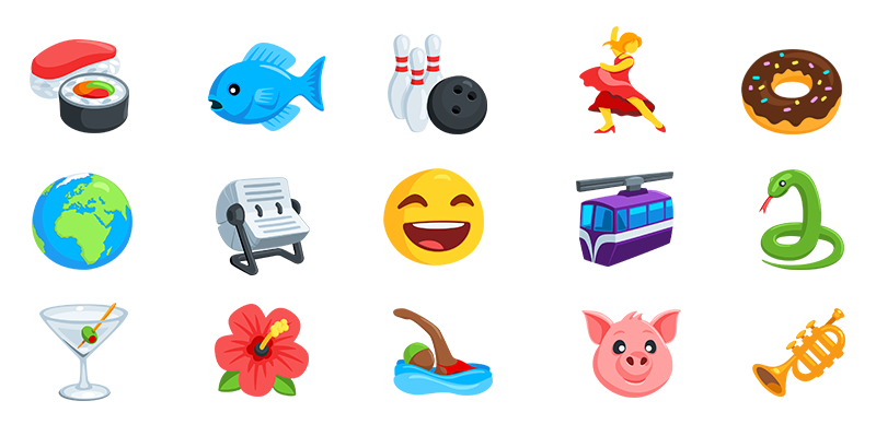 Facebook Messenger Emoji • Iconfactory Portfolio png royalty free stock