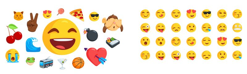 Facebook messenger clipart meanings image freeuse Facebook Messenger adds diverse emoji - The Verge image freeuse