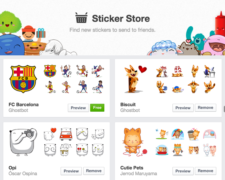 Facebook messenger clipart meanings jpg library library The definitive guide to the best Facebook stickers jpg library library