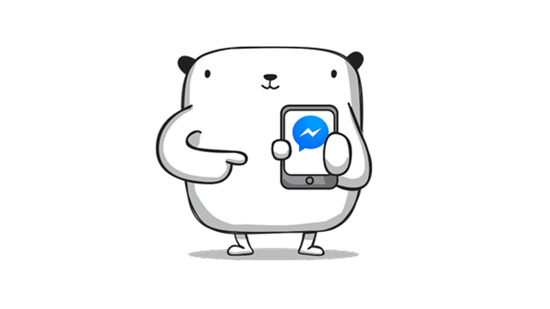Facebook messenger phone clipart svg free How to send a Facebook message without Facebook Messenger - PC Advisor svg free