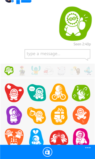 Facebook messenger phone clipart image transparent download Messenger for Windows Phone - Download image transparent download