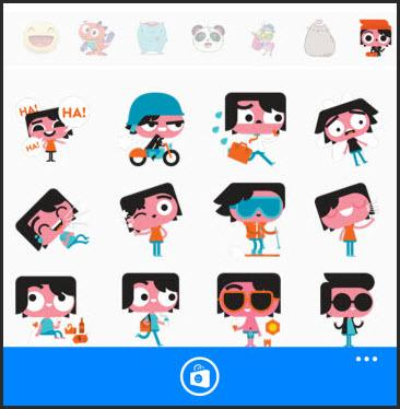 Facebook messenger phone clipart png royalty free library Facebook Messenger (for Windows Phone) Review & Rating   PCMag.com png royalty free library