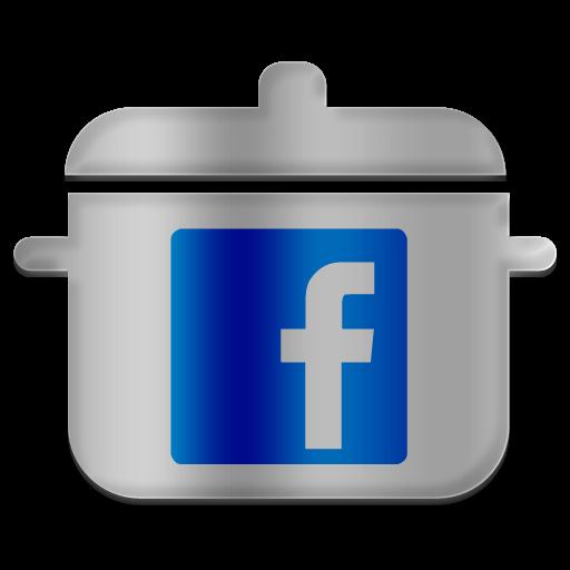 Facebook png clipart vector transparent library Facebook Icon - ClipArt Best vector transparent library