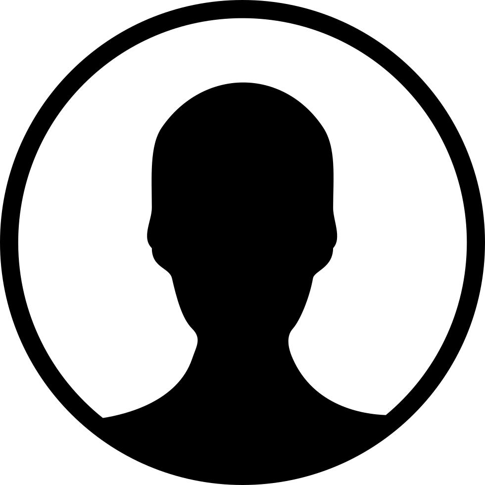 Facebook profile icon clipart graphic black and white No Profile Picture Icon #77059 - Free Icons Library graphic black and white