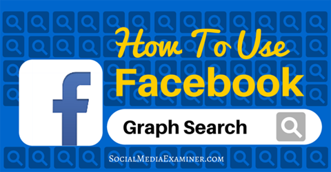 Facebook search black and white How to Use Facebook Graph Search to Improve Your Marketing ... black and white
