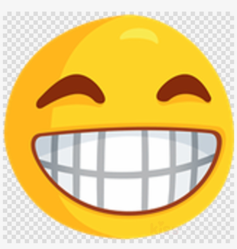 Facebook smileys clipart clipart freeuse library Smiley Emoji With Teeth Clipart Emoticon Emoji Facebook - Messenger ... clipart freeuse library