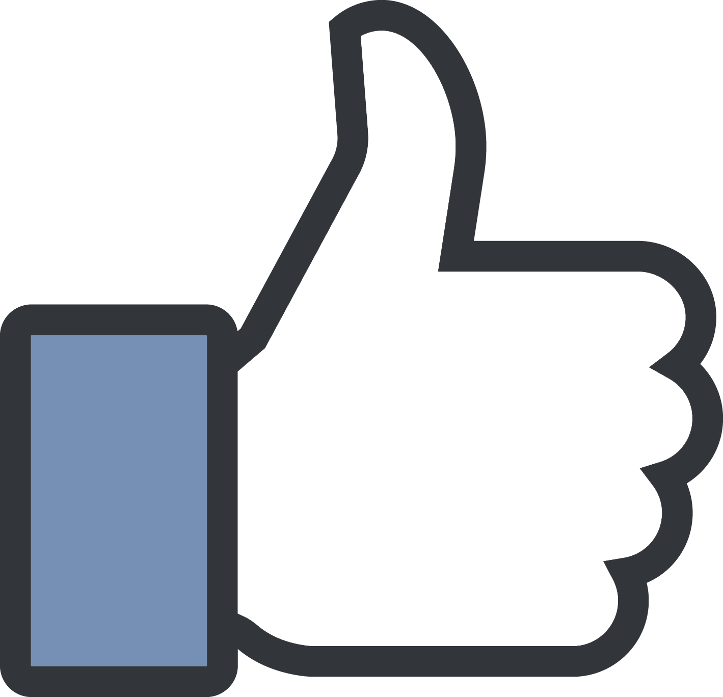 Facebook thumbs up clipart png freeuse stock Like Symbol In Facebook Image collections - meaning of text symbols png freeuse stock