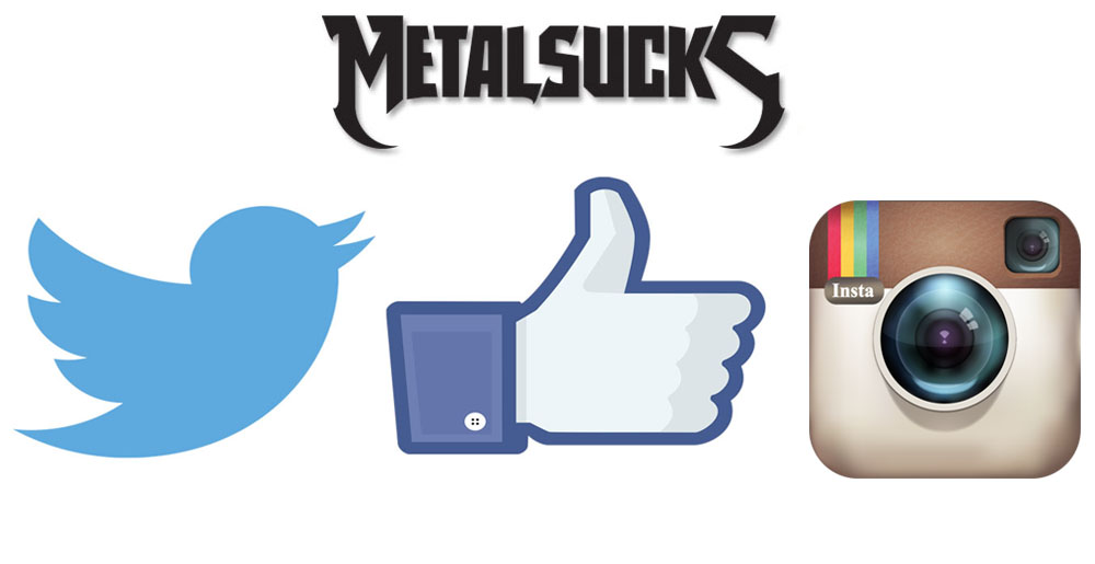 Facebook twitter instagram clipart clip art free Follow MetalSucks on Facebook, Twitter, Instagram and YouTube ... clip art free