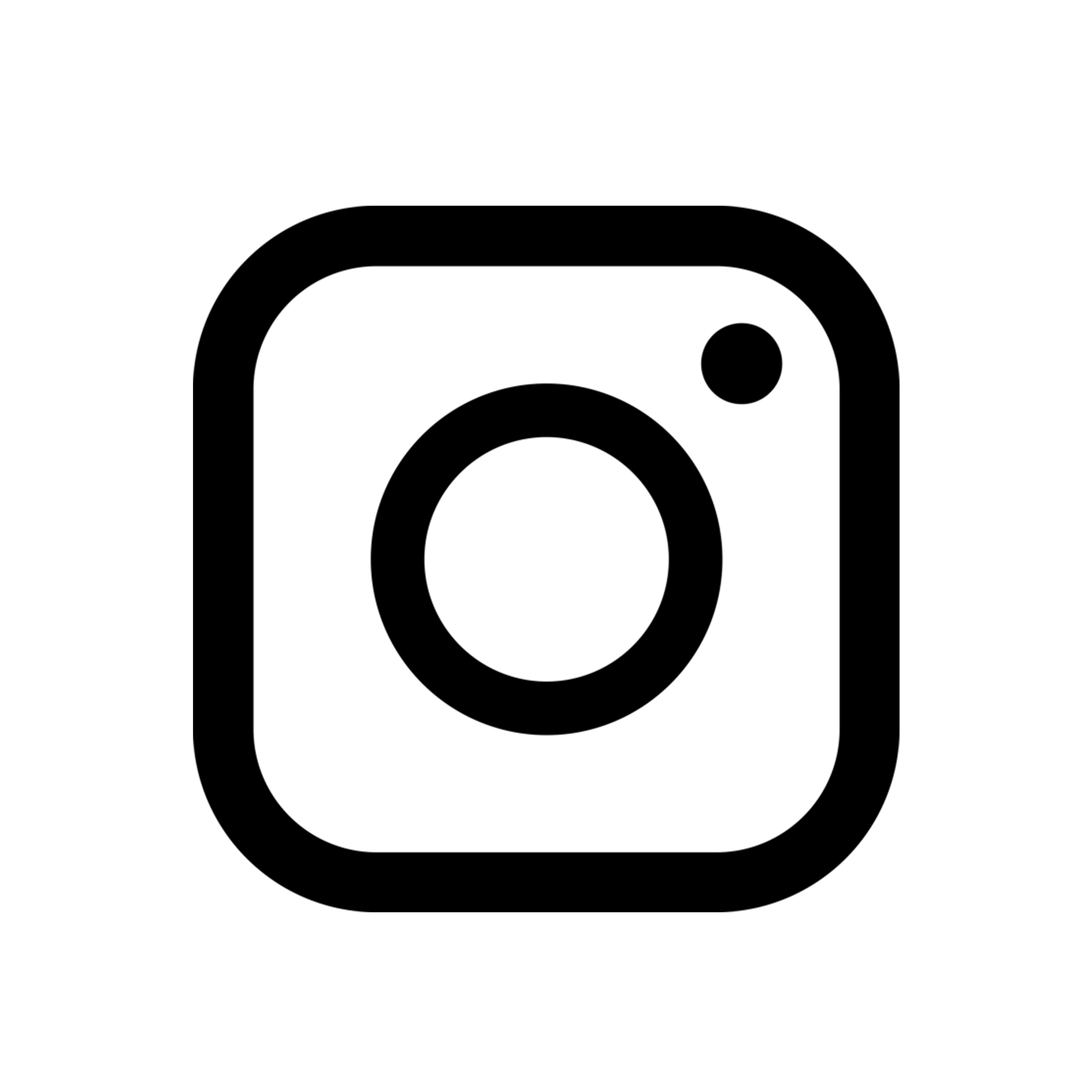 Instagram Logo In White - Real Clipart And Vector Graphics • banner library stock
