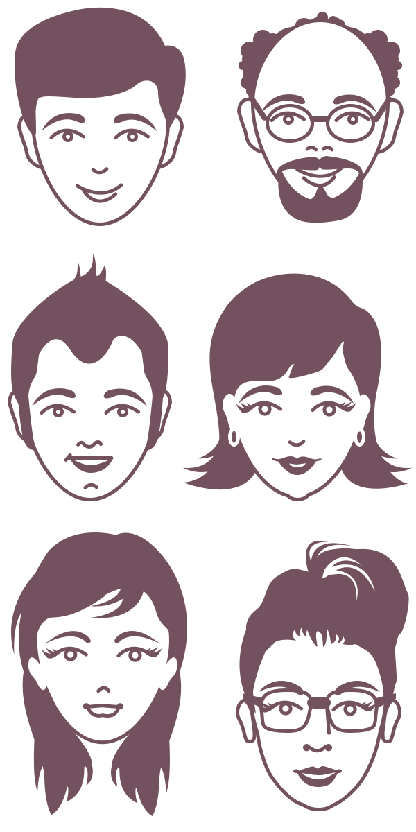 Faces vector clipart graphic transparent Face vector clipart images gallery for free download | MyReal clip ... graphic transparent