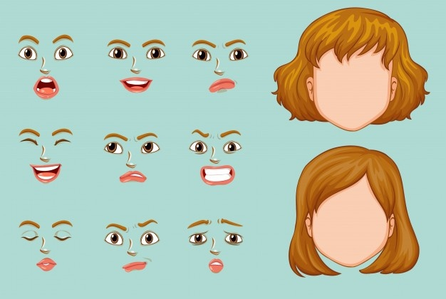 Faces vector clipart download Face Vectors, Photos and PSD files | Free Download download