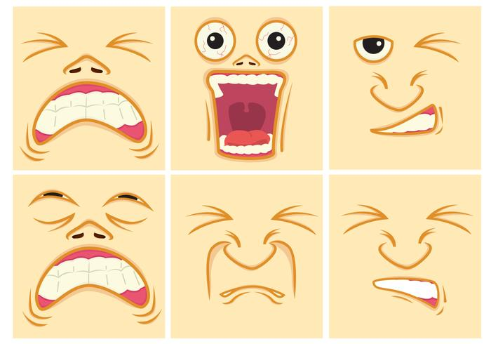 Faces vector clipart svg library stock Pain Expression Faces - Download Free Vectors, Clipart Graphics ... svg library stock