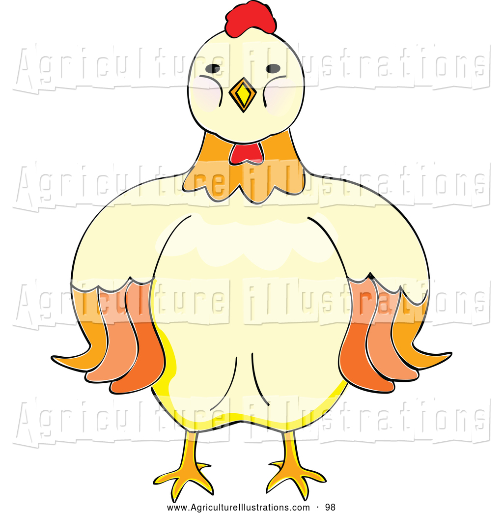Facing clipart clipart royalty free stock Agriculture Clipart of a Stern Hen Facing Forward by Cherie Reve - #98 clipart royalty free stock