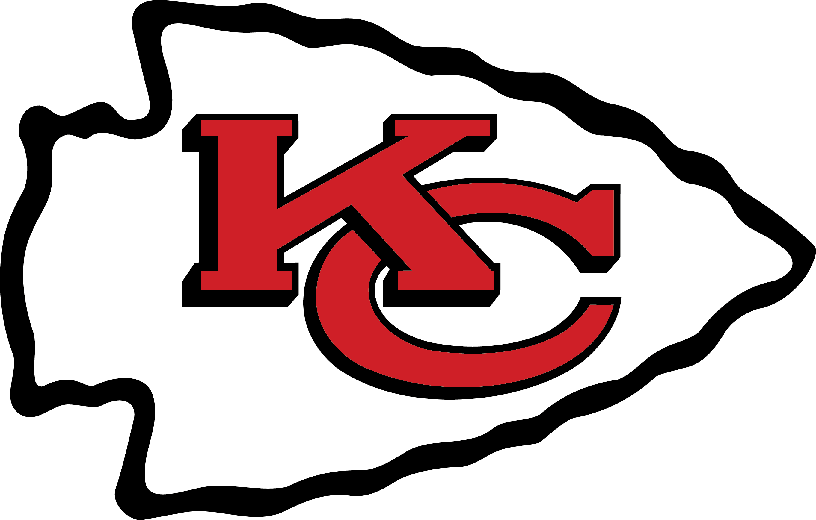 Kc royals crown clipart clip black and white download Kansas City Chiefs Logo Vector EPS Free Download, Logo, Icons ... clip black and white download