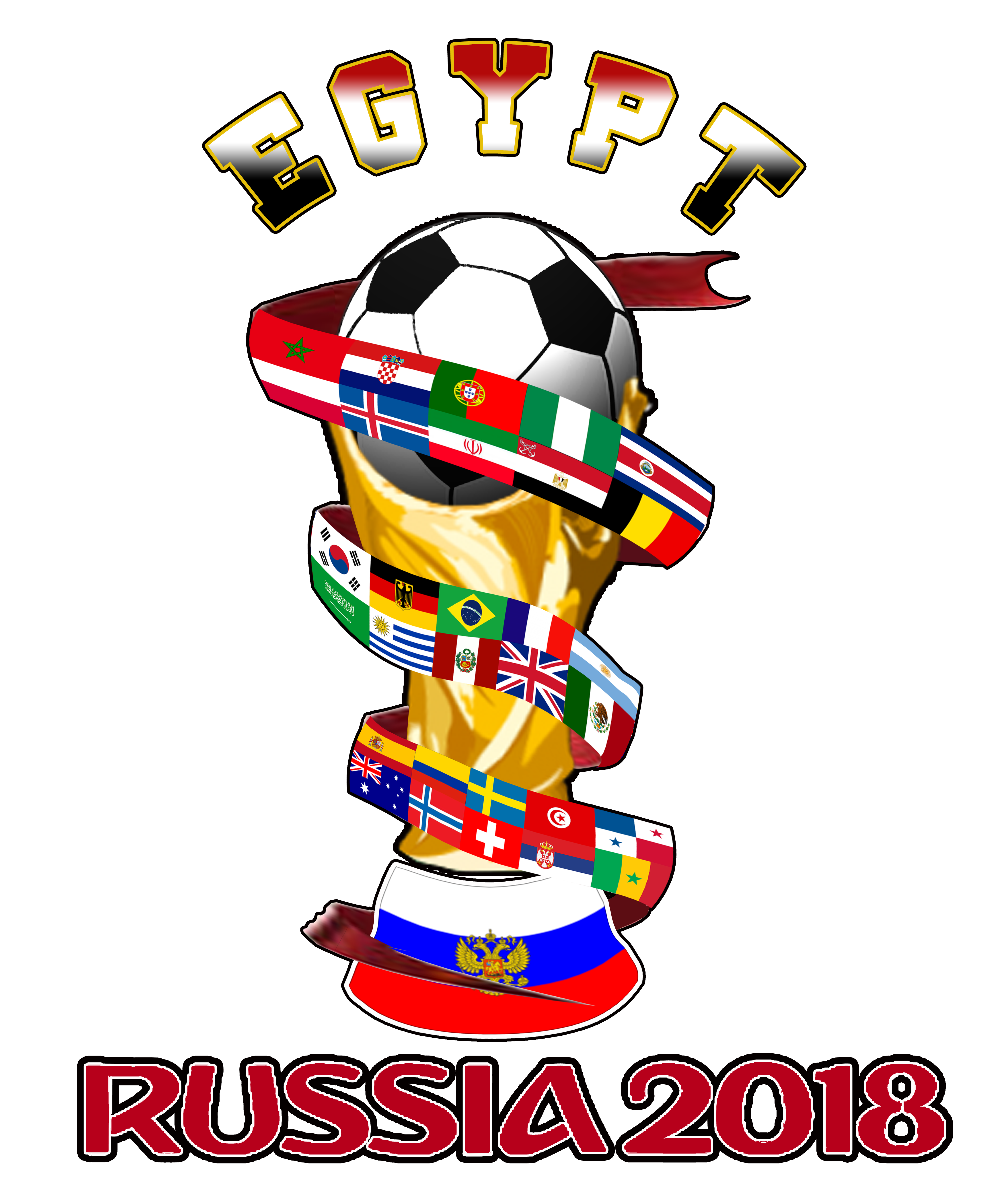 Football players pushing clipart graphic black and white download EGYPT WORLD CUP RUSSIA 2018 | Camisetas, el diseño es todo ... graphic black and white download