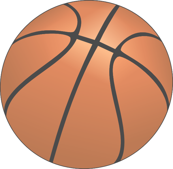 Faded basketball clipart svg freeuse stock Basketball Clip Art at Clker.com - vector clip art online, royalty ... svg freeuse stock