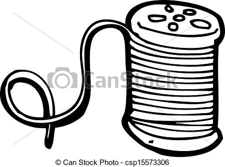Fadenspule clipart - ClipartFest picture black and white library