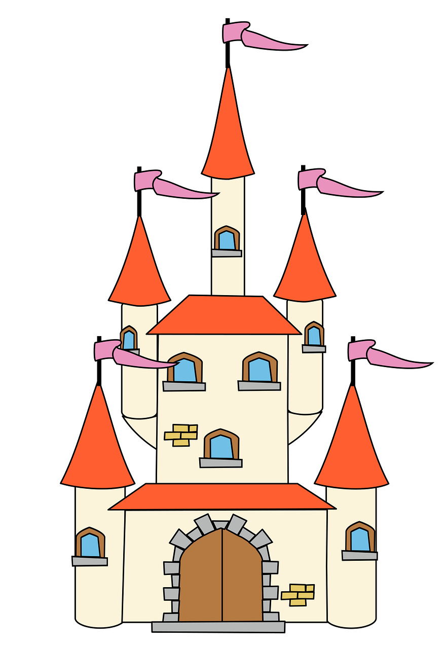 Fairy castle clipart graphic free library Castle, Castle Fairy Tale Fantasy Medieval Middle #castle, #castle ... graphic free library