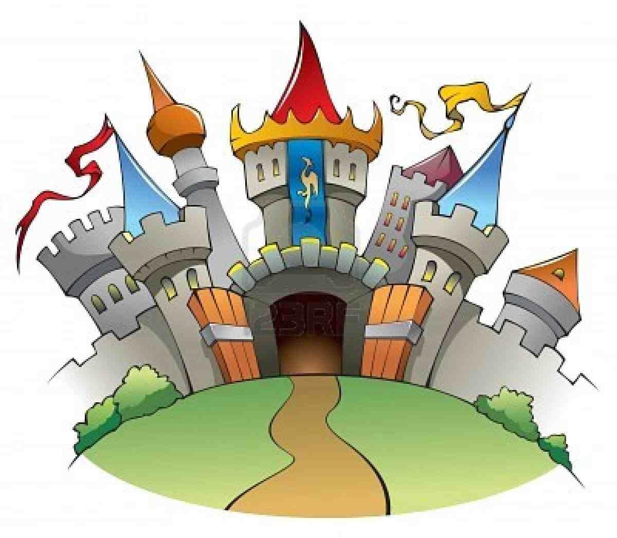 Fairy castle clipart clip art black and white Fairytale Castle Pictures - ClipArt Best | Baby Matthew | Medieval ... clip art black and white