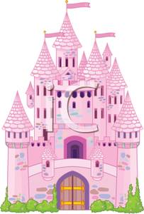 Fairy castle clipart svg library A Pink Fairytale Castle Clipart Picture svg library
