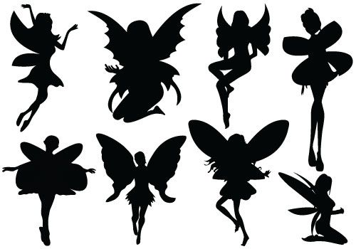 Fairy clipart free downloads library Fairy Silhouette | Free Download Clip Art | Free Clip Art | on ... library