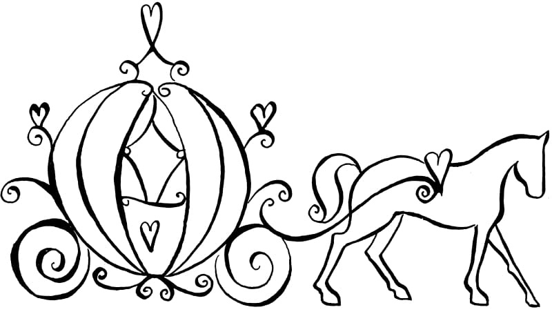 Fairy godmother black and white clipart clipart freeuse library Cinderella Fairy Godmother Coloring book Carriage Horse, Wedding ... clipart freeuse library