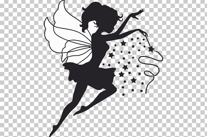 Fairy godmother black and white clipart vector freeuse Tooth Fairy Wall Decal Fairy Godmother PNG, Clipart, Arm, Art ... vector freeuse