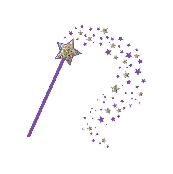 Fairy godmother wand clipart clip transparent stock We all need a little fairy dust in life :) - new version of my magic ... clip transparent stock