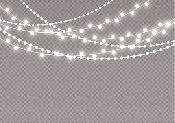 string lights clipart - Honey & Denim png royalty free library