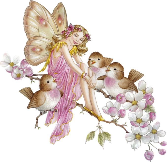 Fairy on a flower clipart banner download ShirleyBarber_Fairies | Pinterest | Fairy, Bird and Songs banner download