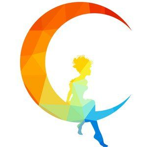 Fairy sitting on the moon blowing kisses clipart clip art free Fairy girl sitting on a crescent Moon vector image | Vector ... clip art free