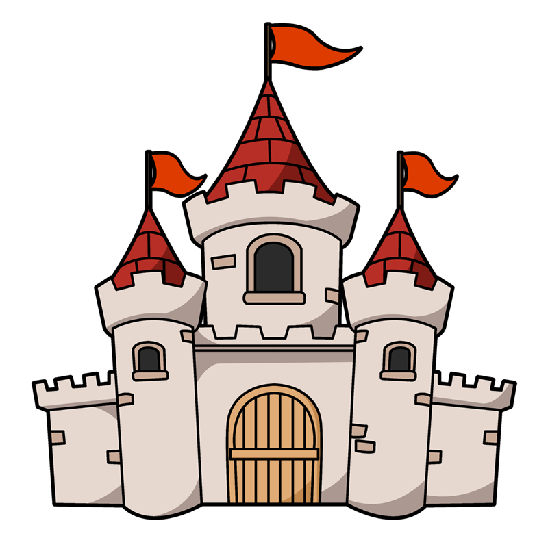 Fairy tail best tale. Fish tank castle clipart