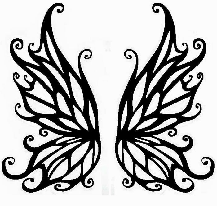 Fairy wing clipart clip art library stock fairy wings to colour   Daisy Flower Outline - Coloring For kids ... clip art library stock