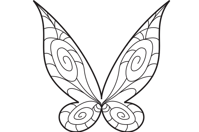 Fairy wing clipart jpg black and white download Fairy Wings Enamel Pin - Part 1   Indiegogo jpg black and white download