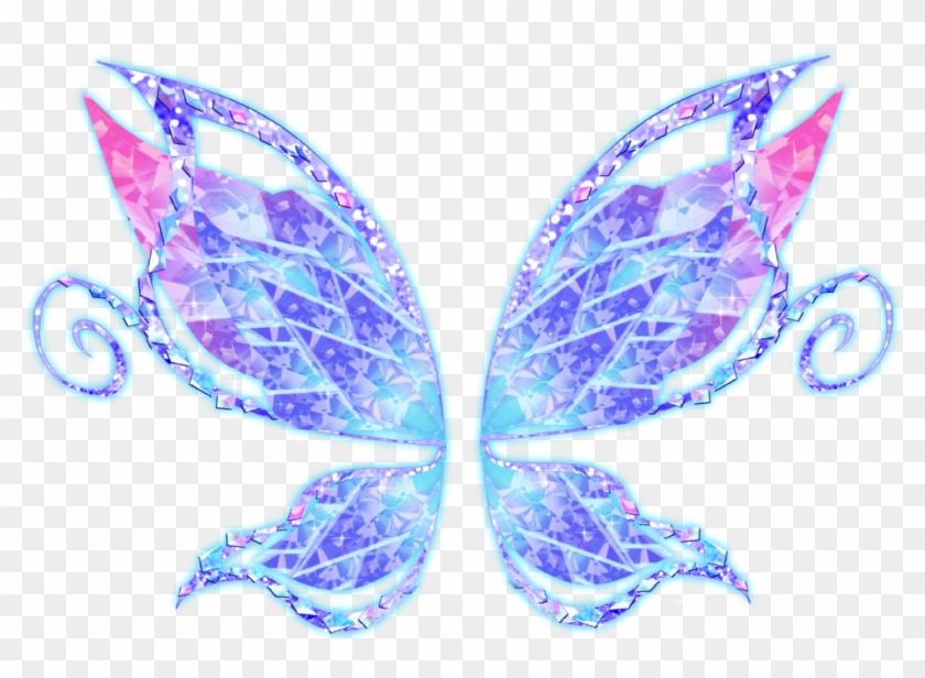 Fairy wings transparent clipart png black and white stock Free Icons Png - Blue Fairy Wings Png, Transparent Png - 1023x721 ... png black and white stock
