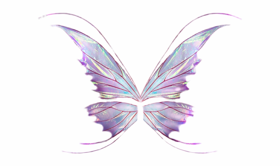 Fairy wings transparent clipart png royalty free Sticker Butterfly Wings Wing Fairy Fairywings Png Wings ... png royalty free