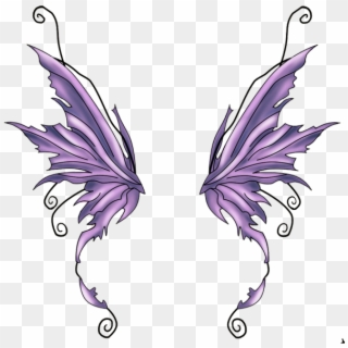 Fairy wings transparent clipart png black and white download Free Fairy Wings PNG Images | Fairy Wings Transparent Background ... png black and white download