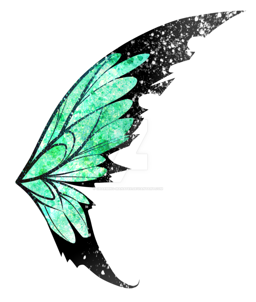 Fairy wings transparent clipart clipart library Bloom Fairy Clip art - Green Fairy Wings Png png download - 824*969 ... clipart library
