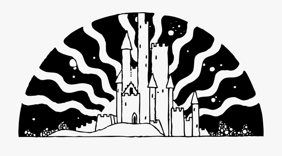 Fairytale clipart black and white graphic black and white download Tale Clipart Fantasy Book - Fairy Tale Black And White , Transparent ... graphic black and white download