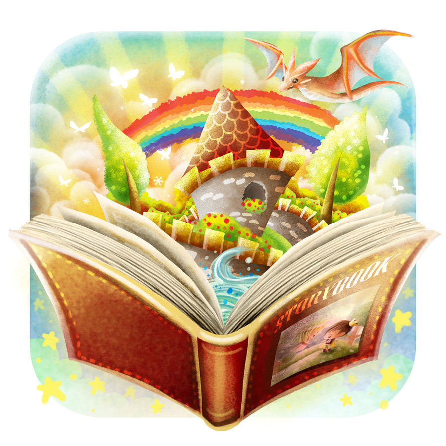 Fairytale storybook clipart