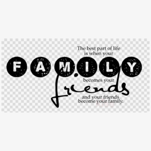 Faith and family night clipart black and white image royalty free download Friends Clipart Family - Calligraphy #1300403 - Free Cliparts on ... image royalty free download