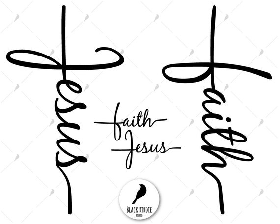 Faith clipart graphic free stock Faith cross svg, Jesus cross svg, faith svg, Jesus svg, Jesus ... graphic free stock
