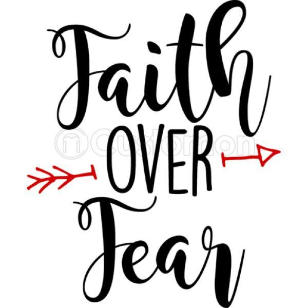Faith over fear clipart clip art transparent stock Faith Over Fear iPhone 6/6S Case - Customon clip art transparent stock