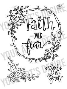 Faith over fear clipart clip royalty free download Faith Over Fear clip royalty free download