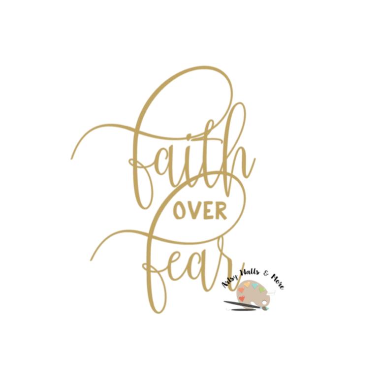 Faith over fear clipart clipart freeuse download Faith over Fear svg Christian faith svg, Fear svg dxf, God clipart freeuse download