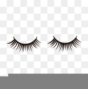 Fake lashes clipart free library Clipart Fake Eyelashes | Free Images at Clker.com - vector clip art ... free library