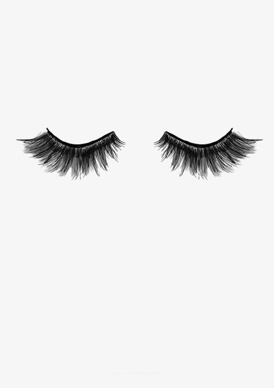 Fake lashes clipart png black and white Eyelash PNG, Clipart, Eyelash, Eyelash Clipart, Eyelashes, Fake ... png black and white